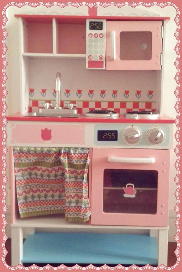 cuisine en bois pour enfant